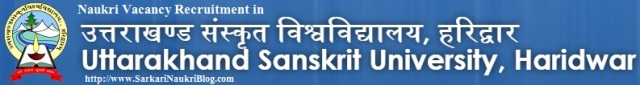 Naukri-Vacnacy-Recruitment-Uttarakhand-Sanskrit-University