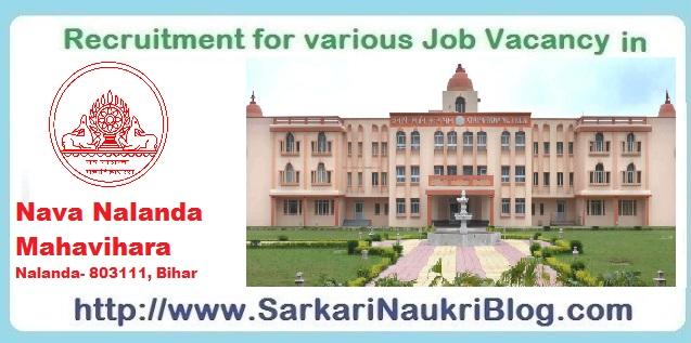 Naukri-Vacancy-Recruitment-Nava-Nalanda-Mahavihara