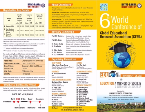 6th World Conference Brochure