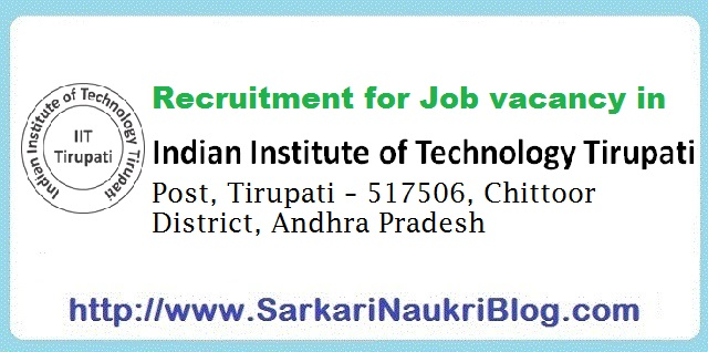 Naukri-Vacancy-Recruitment-IIT-Tirupati